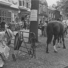 Norwich Streets -- TA mock-upmarket on TomblandDated -- 20 July, 1983Photograph -- C5284