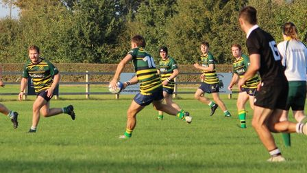 Huntingdon & District beat Stewart & Lloyds 21-7 in Midland Division Three East (South).