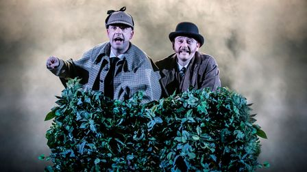 The Hound of the Baskervilles which is at the New Wolsey Theatre, Ipswich, from November 9-13