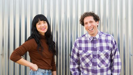Sex With Cancer co-creators, friends and former patients Joon-Lynn Goh and Brian Lobel.