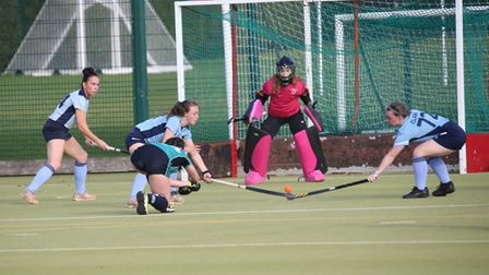 The first teams of St Ives and St Neots played out a 1-1 draw.
