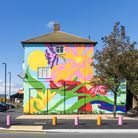 A bold new mural in Claremont Way