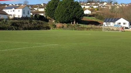 Coombe Valley, home of Teignmouth AFC Ladies