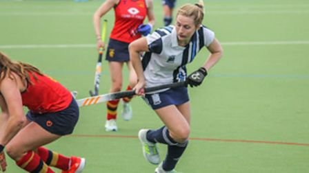 Lucy Hyams in action for Hampstead