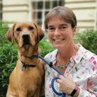North Devon MP Selaine Saxby and her dog Henry