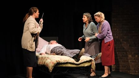 Company of Ten presents Five Kinds of Silence at the Abbey Theatre Studio in St Albans.