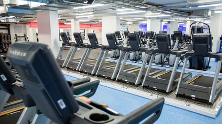 Cardio machines at The Gym