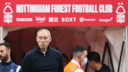 Nottingham Forest manager Steve Cooper prior to kick-off of the Sky Bet Championship match at The Ci