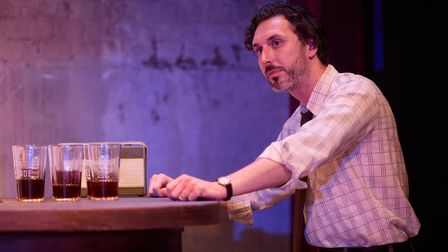 Blake Harrison in A Place for WeBy Archie Maddocks at the Park Theatre. Directed by Michael Buffong