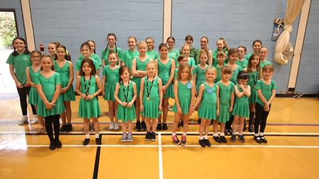 The Hot Steps Dance Academy pupils raised £1,000 for Teenage Cancer Trust at a fundraising event in Royston