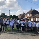 Dr Baxter and Partners in Shefford and Ivel Valley South PCN joined together for the 15-mile walk in aid of George Fox