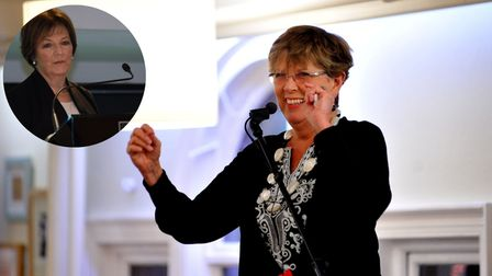 For one night only Delia Smith has some Carrow Road competition when Prue Leith visits her restaurant