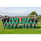 Wrington Redhill in their new kit sponsored by The Club at Cadbury House.