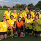 Blueharts ladies' fourth team produced a superb result away to Broxbourne.