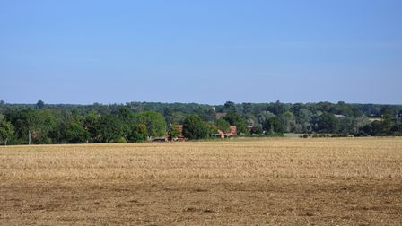 Great views around Easton and Letheringham.