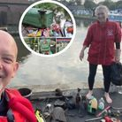 Paddleboarder Darren Reeve is urging people to do their bit to stop river pollution