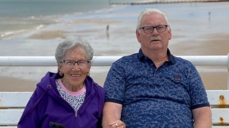 Sylvia and Terry Gallant who have been married for 60 years.