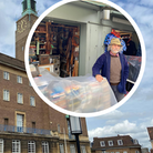 Norwich City Hall's clock caught out traders after it stopped working over the weekend