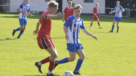 Ethan Hawes in action