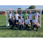 All smiles for Weston over-60s after securing a place in the National Finals.