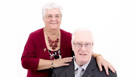 73-year-old Margaret Bennett with her late husband Tony