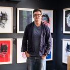 Artist Heath Kane, whosecollection Richer Than Batman is coming to the Electric Gallery in South Woodford this week.