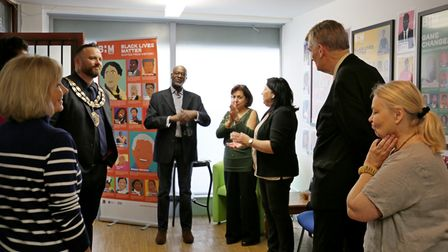 Weston Town Council opens safe space during Black History Month.