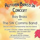 The autumn concert is being held on Saturday, October 16
