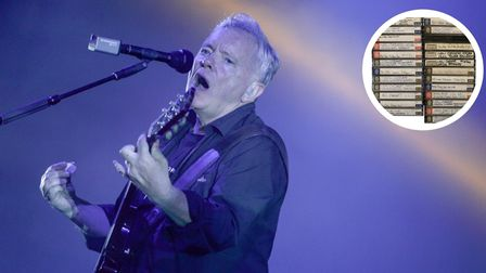 New Order performing at Latitude Festival in 2016