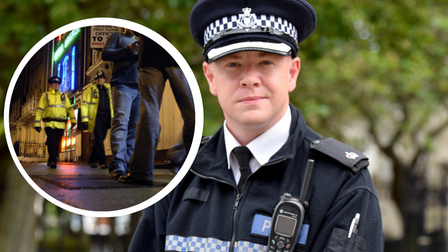 Superintendent Terry Lordan has spoken about the recent stabbings and criminal behaviour in Prince of Wales Road