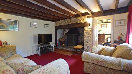 Three bedroom cottage in a quiet rural area near Honiton