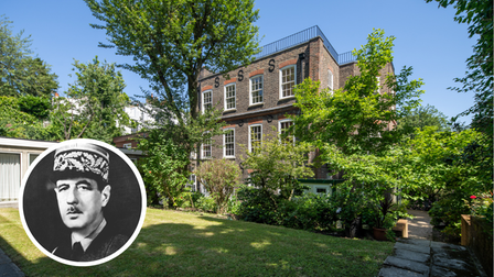 Frognal House, Charles de Gaulle's former abode, is on the market