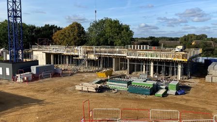 Work is under way in Kenilworth Close to bring more affordable and social housing to Stevenage