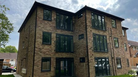 Addison House in Shephall Way was recently completed by Stevenage Borough Council