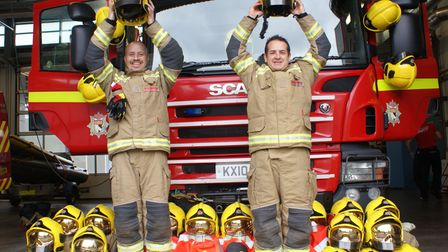 Norfolk firefighters helmets to feature in new charity art exhibition