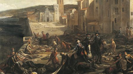 Plague Times: Michel Serre's 'The Plague in Marseilles' (1721). Picture: Getty Images