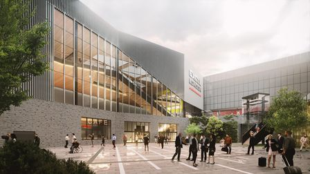 What the entrance to the ExCeL extension could look like
