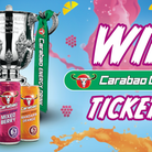 Carabao Energy Drink are giving two lucky Arsenal fans the chance to win a pair of tickets to Arsenal vs Leeds.