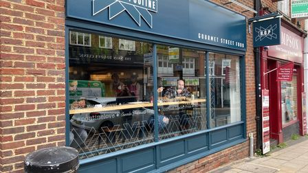 House of Poutine in Chequer Street, St Albans.