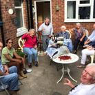 Dennis and Sylvia's musical afternoon tea