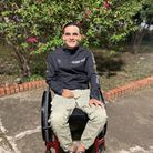Cristhian Molina took on the Steptember challenge in Colombia for the Rooprai Spinal Trust.