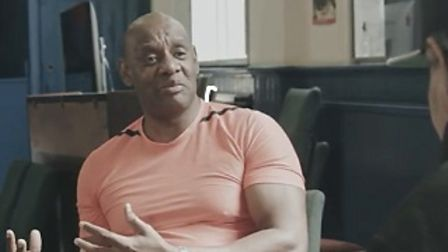 The Dark Destroyer Shaun Wallace stars in a short film about Covid and the need for vaccines