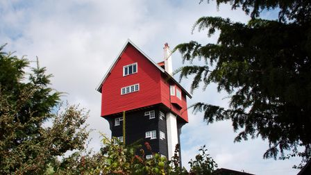 Can it really be a house in the clouds? Absolutely - and you can stay in it for a lovely Thorpeness holiday.