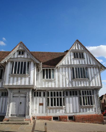 A wizard place to visit, the Guildhall of Corpus Christi Lavenham