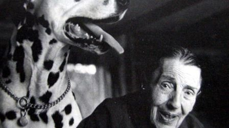 Dodie Smith, author of 101 Dalmations set part of the book in Sudbury