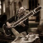 Sitar player Ricky Romain gave a concert for Afghanistan