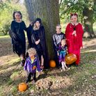 Love Letchworth trick or treaters ready for spooky season
