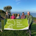 Five sites will display a Green Flag.