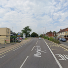 Suffolk police have attended a two car crash on Norwich Road, Ipswich, near the Hunters BMW Garage.