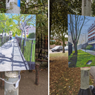 Matthew Bowles' lamppost art appeared all over NR2. Did you spot any of them?